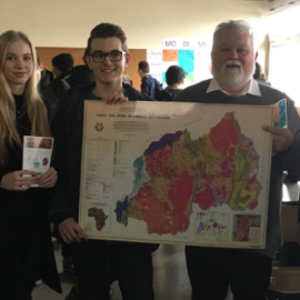 Karaba Neuwied e.V. visiting Rhein-Wied Gymnasium