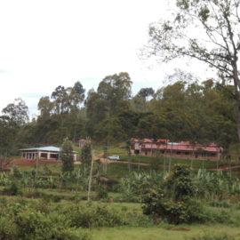 Handwerkerzentrum MWOGO kurz vor der Fertigstellung