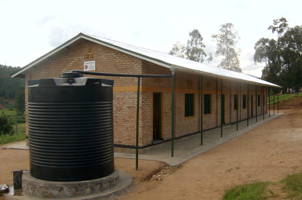 Kindergartenprojekt in Ruanda