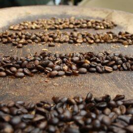 Kaffee von einer Kooperative in Ruanda